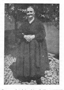 """Gregoria Cervantes (imagen cortesía de: """"Hombres, Lugares y Cosas de La Mancha, de Rafael Mazuecos Pérez-Pastor)"""