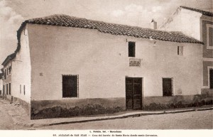 Casa donde nació Cervantes