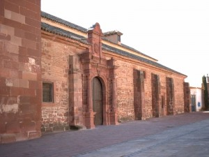 Parroquia de Santa María, que contiene la partida de bautismo de Cervantes