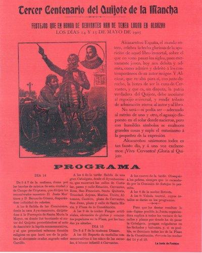 Cartel conmemorativo del III Centenario del Quijote (fichero PDF, 645 kB)