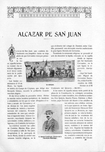 Crónica del III Centenario del Quijote en Alcázar de San Juan (fichero PDF, 458 kB)