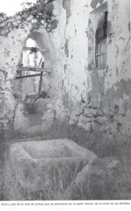 """Venta de las Motillas (imagen cortesía: """"La Mancha de don Quijote"""", de Ángel Ligero Móstoles)"""