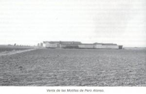 """Venta de las Motillas (imagen cortesía: """"La Mancha de Don Quijote"""", de Ángel Ligero Móstoles"""")"""