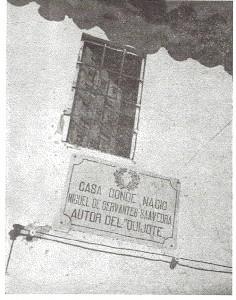 Placa casa Cervantes0001